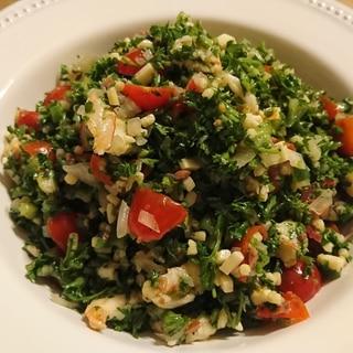タブール風 パセリのサラダ
