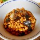 大豆と昆布とニシンの煮物