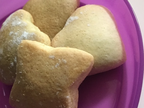 ホットケーキミックスで簡単クッキー
