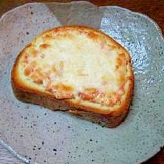 鮭マヨチーズトースト