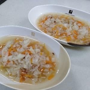 千切り野菜★コンソメスープ