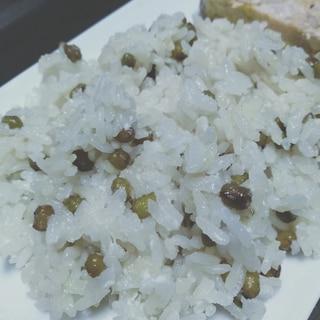緑豆のチェー風炊き込みご飯