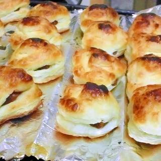 魚焼きグリルで簡単お菓子作り「パイの実」風