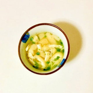 冷凍油揚げで簡単味噌汁