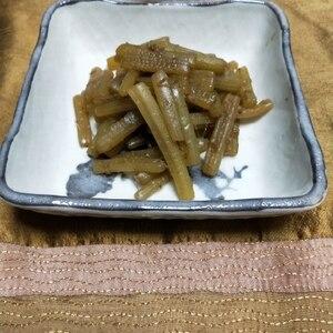 お弁当にも使える ふきの煮物