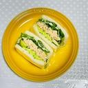缶詰で簡単★ツナと野菜のタルタルサンド