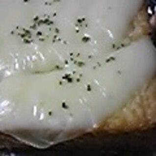 簡単チーズ厚揚げ