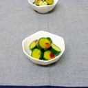 胡瓜のピリ辛ポン酢漬け