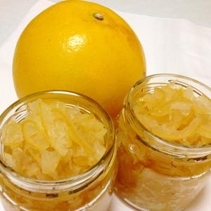 マーマレード (文旦の皮、柑橘系いろいろ)