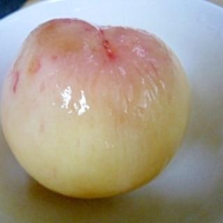 簡単★桃の皮の剥き方★