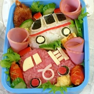 キャラ弁☆車好き男子に♫簡単!救急車と消防車