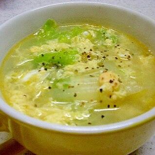 白菜と春雨のスープ