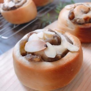 マロンロールパン