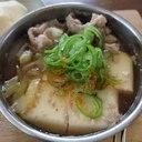 一人分の肉豆腐