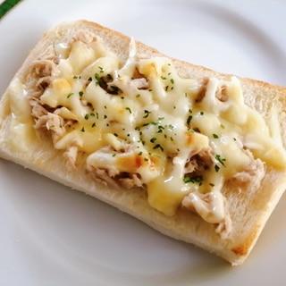 ツナチーズマヨトースト