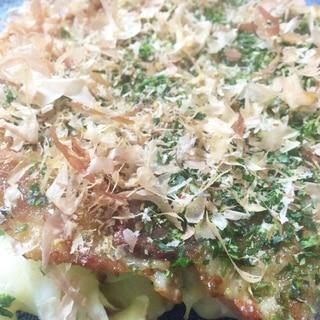 食感がたまらん♪長芋&山芋のお好み焼き