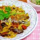 インドの野菜炒め