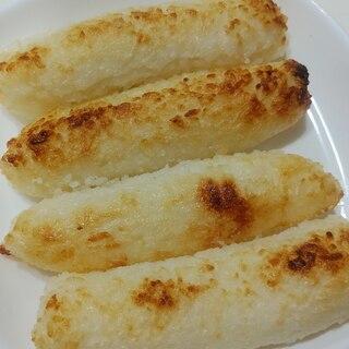 魚焼きグリルできりたんぽ