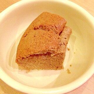 紅茶オレでシフォンケーキ