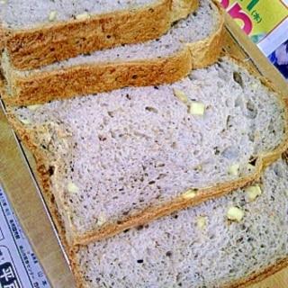 秋の味覚☆さつまいもと黒ゴマの食パン☆1.5斤用