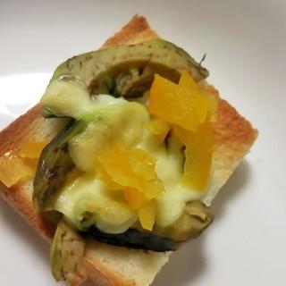 アボカド&マーマレードシュガーチーズトースト