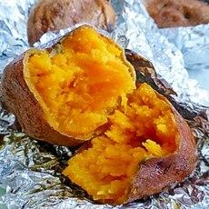 安納芋の焼き方