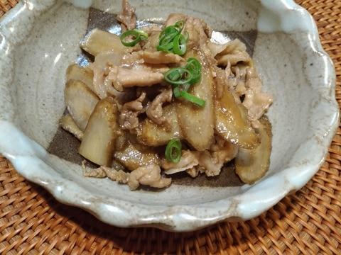 ごはんがすすむ☆新ごぼうと豚肉の炒め煮