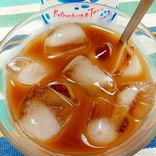 アイス☆カルピスソーダカフェオレ風♪