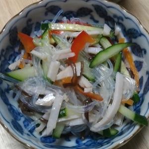 お鍋1つで簡単☆デパ地下のお惣菜みたいな春雨サラダ