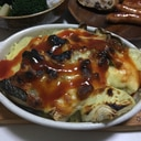ブリと野菜のチーズ焼き