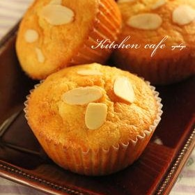 【クリームチーズ】バナナマフィン