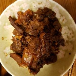 ご飯がすすむ!牛肉のしぐれ煮