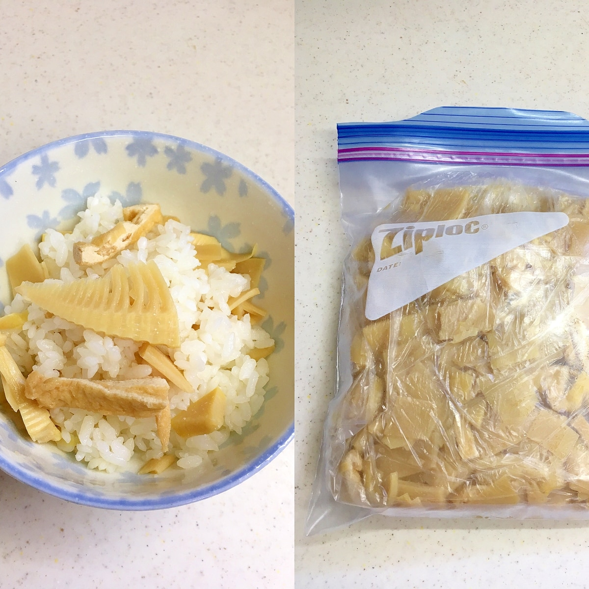 たけのこご飯 冷凍