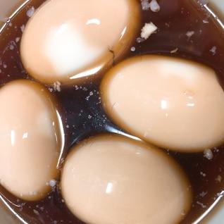 角煮の残り汁で味付け卵♡