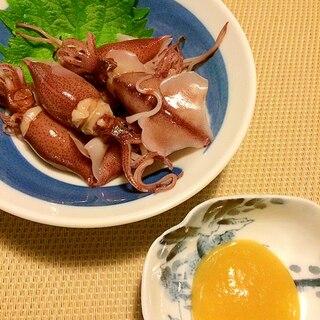 2015☆初物☆ホタルイカの酢味噌和え
