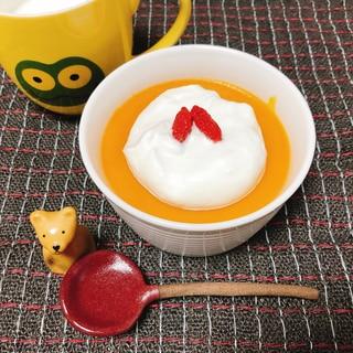 栄養満点!かぼちゃプディング(潰瘍性大腸炎◎)