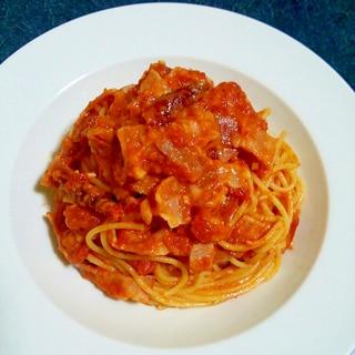チーズ好きのスパゲティ・アラビアータ