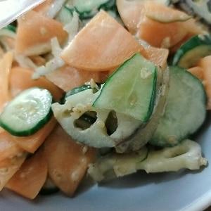 デパ地下の味★蓮根サラダ