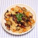 簡単☆絶品☆乾燥野菜☆乾燥ホタルイカの炊き込みご飯