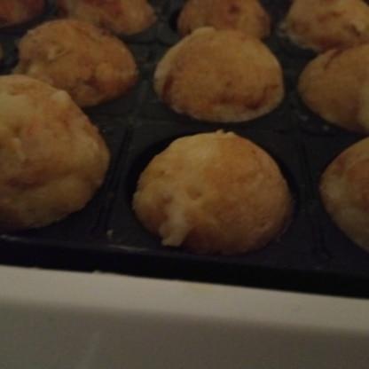 今までのたこ焼きのレシピで1番家族に好評でした。とても美味しかったです。