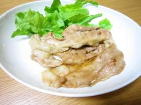 簡単★豚肉の生姜焼き