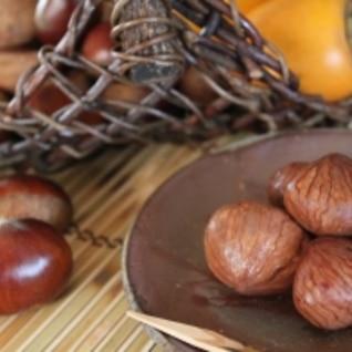 秋の味覚☄渋皮煮