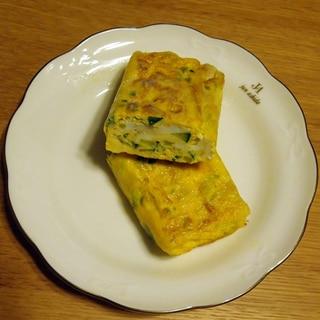 胡瓜の卵焼き