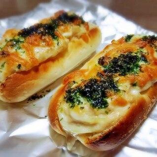 和風総菜パン♪ ツナちくわロールパン♡