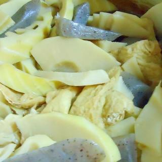 冷凍竹の子の煮物