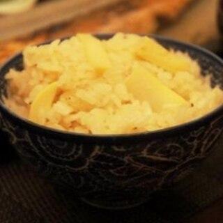 筍と桜海老の炊きこみご飯~山椒をきかせて~