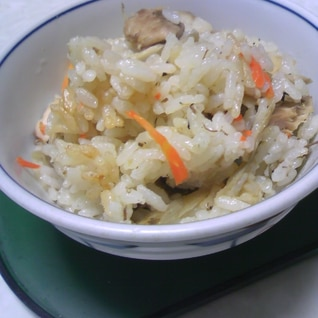 サバ缶DE炊き込みご飯♡お米が美味しくなる炊き方