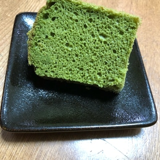 米粉青汁シフォンケーキ