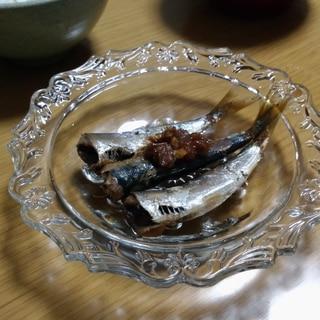 めんつゆで簡単いわしの梅煮