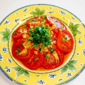 爽やか&涼し気で夏にピッタリ!オニオントマトサラダ